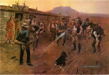marion - der Tenderfoot 1900 Charles Marion Russell Indiana Cowboy
