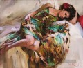 In a Gypsy Dress MIG Impressionist