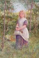 Country Girl von Henry James Johnstone Britische 04 Impressionist