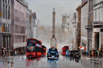 city Kunst - Regent St City of Westminster UK KG per Messer