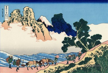 the annunciation 1785 Ölbilder verkaufen - the back of the fuji from the minobu river Katsushika Hokusai Japanese