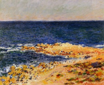 Strand Werke - The Big Blue in Antibes Claude Monet Beach