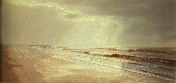 Strand Werke - Strand with Sun Drawing Water Szenerie William Trost Richards
