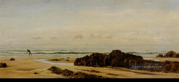 Strand Werke - Bude On The Cornish Coast Landschaft Brett John Beach