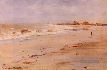 Strand Werke - Coastal View impressionistische Landschaft William Merritt Chase Beach