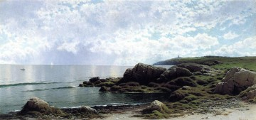Strand Werke - Ebbe bei Swallow Tail Cove moderne Strand Alfred Thompson Bricher