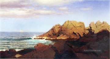 Strand Werke - Rocks at Nahant Szenerie William Stanley Haseltine Strand
