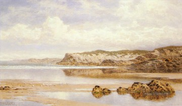 Strand Werke - The Incoming Tide Porth Newquay Landschaft Benjamin Williams Leader Beach