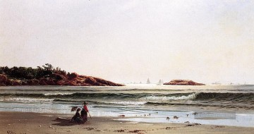 Strand Werke - Indian Rock Narragansett Bay moderne Strand Alfred Thompson Bricher