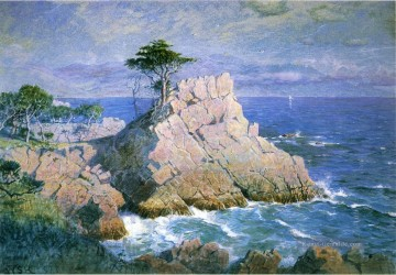 Strand Werke - Midway Point Kalifornien aka Cypress Point in der Nähe von Monterey Szenerie William Stanley Haseltine Strand