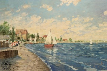Strand Werke - Summer Breeze Thomas Kinkade Strand