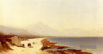 Strand Werke - The Road by the Sea Palermo Italy Szenerie Sanford Robinson Gifford Beach