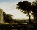 Landschaft With A Sacrifice To Apollo Claude Lorrain Beach