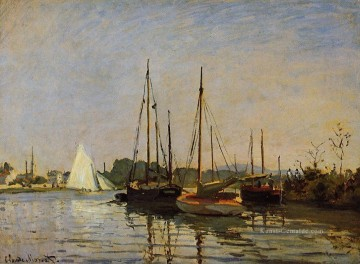 monet seerosen Ölbilder verkaufen - Pleasure Boats Claude Monet