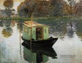 Das Studio Boot 1874 Claude Monet