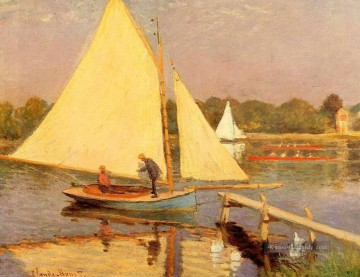 Boaters in Argenteuil Claude Monet Ölgemälde