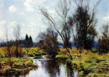 Landschaft Szenerie Hugh Bolton Jones Fluss Ölgemälde