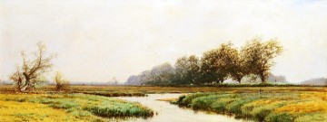 Newbury Marshes Alfred Thompson Bricher Fluss Ölgemälde