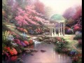 Pools von Serenity Thomas Kinkade Landschaft Strom
