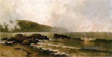 die Küste in Grand Manan Alfred Thompson Bricher Fluss Ölgemälde