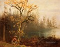 Indian Scout Albert Bier Landschaft Fluss