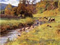 Tennessee Szene Impressionist Indiana Landschaften Theodore Clement Steele Bach