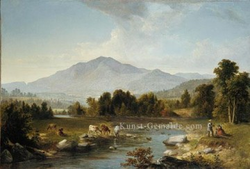 High Point Shandaken Berge Landschaft Asher Brown Durand Strom Ölgemälde