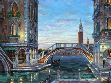 Andere Stadtlandschaft Werke - Evening In Venezia Robert F cityscapes