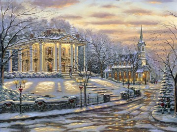 Andere Stadtlandschaft Werke - Joys Of Christmas Robert Fi cityscapes