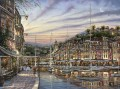 Portofino Dawn cityscapes