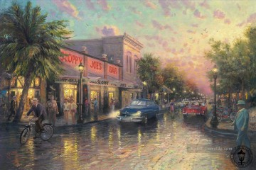 Andere Stadtlandschaft Werke - Key West Thomas Kinkade cityscapes