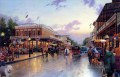 Main Street Celebration Thomas Kinkade cityscapes