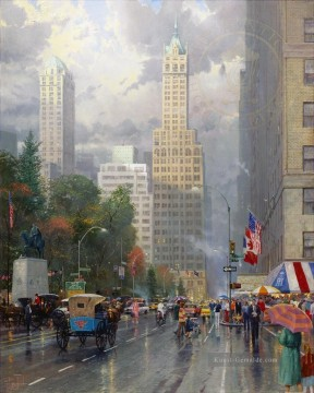 Stadtbild Werke - New York Central Park South Sixth Ave Cityscape