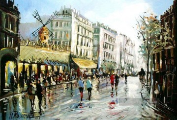 Moulin Galerie - Moulin Rouge von ricardomassucatto Paris