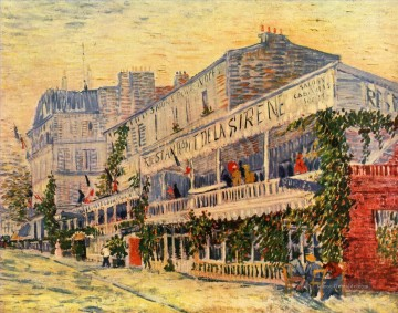 Vincent Willem van Gogh Das Restaurant Paris Ölgemälde