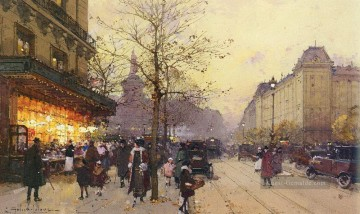 Paris Werke - PLACE DE LA REPUBLIQUE PARIS Eugene Galien Laloue