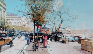 Paris Werke - Paris scenes 04 Eugene Galien