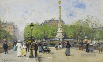 Paris Werke - Place de Chatelet Eugene Galien Pariser