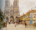 La Cathedrale de Reims Eugene Galien Pariser
