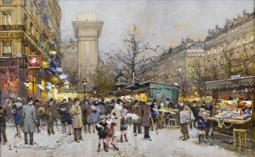 Paris Werke - Paris Porte Saint Denis 5 Eugene Galien