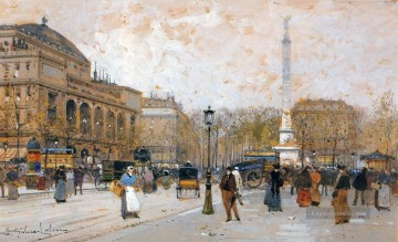 Paris Werke - Paris scenes 09 Eugene Galien