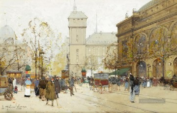 Paris Werke - Place du Chatalet Eugene Galien Pariser