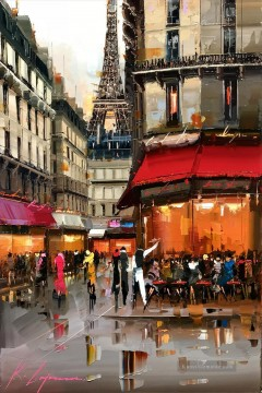 Paris Werke - Café unter Effel Tower KG Paris