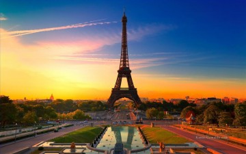 Paris Werke - photo of Eiffel Tower Paris France