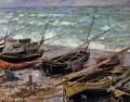 Fishing Boats Claude Monet