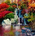japanese waterfall Garten