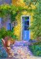 The blue door PROVENCE Garten