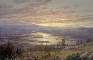 Hill Kunst - See Squam von Red Hill MMA Szenerie William Trost Richards Landschaft