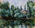 The Banks of the Marne Paul Cezanne Landschaft