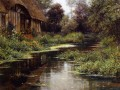 Sommernachmittag normandie Landschaft Louis Aston Knight
